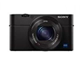 """Sony Cyber-shot DSC-RX100M4 - Cámara compacta de 20.1 Mp (Sensor de 1"""" Exmor RS con 20 MP, ZEISS T 24-70mm, Visor XGA OLED, Selfie LCD, Wi-Fi/NFC, estabilizador óptico), color negro"""
