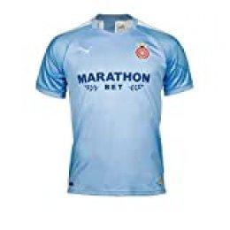 Girona FC Oficial Segunda Equipación Camiseta 2019-20, Adulto, Azul, M