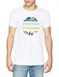 Hurley - Camiseta para hombre, Blanco, M, High Bars Prm Tee Ss