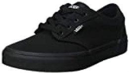 Vans Atwood, Zapatillas Unisex Niños, Negro (Black/Black 186), 36.5 EU