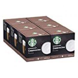 STARBUCKS Cappuccino De Nescafe Dolce Gusto Cápsulas De Café, 6 X Caja De 6+6Unidades