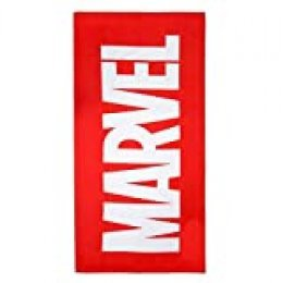 Cerdá 2200003991 Toalla Polyester Marvel, Rojo, 70x140cm