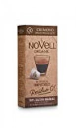 Cápsulas Compostables con café Ecológico, Cremoso, 8 cajas con 10 cápsulas cada