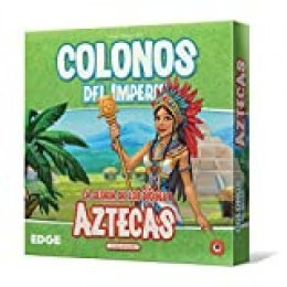 Edge Entertainment- Colonos del Imperio: Aztecas - Español, Color (EEPGIS06)