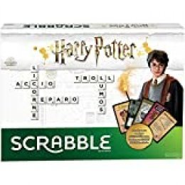 Mattel Games- Scrabble Harry Potter juego de mesa en castellano, 3.6 x 40.1 x 18.8 cm (GPW40)