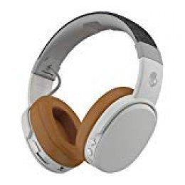 Auriculares Skullcandy Crusher Over-Ear Bluetooth Inalámbricos con Micrófono Integrado, Memory Foam con Aislamiento de Ruido, Stereo Ajustable, Batería con 40 Horas de Duración, Moab/ Rojo/ Negro