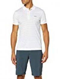 BOSS Paule 8 Camisa de Polo, Blanco, XL para Hombre