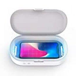 Esterilizador Multifuncional, BlitzWolf Caja de Esterilización UV para Máscara, Móvil, Llave, Reloj, Utensilios de Maquillaje y Otras Cosas