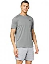 Under Armour UA Tech 2.0 SS Tee Novelty, Camiseta Para Gimnasio, Camiseta Transpirable Hombre, Verde, M