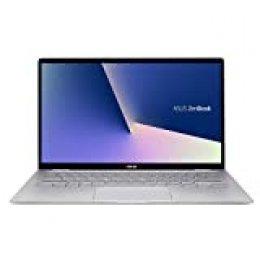 "ASUS ZenBook Flip 14 UM462DA-AI038 - Ordenador portátil de 14"" FHD (Ryzen R5 3500U, 8 GB RAM, 512 GB SSD, Radeon RX Vega 10 Graphic, Endless OS en inglés) Aluminio Gris Claro - Teclado QWERTY español"