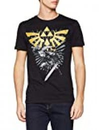 THE LEGEND OF ZELDA - Camiseta con Texto Maat XXL