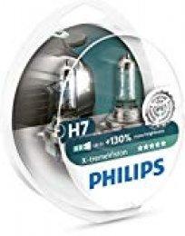 Philips 12972XV+S2 Lámpara Halógena para Coche H7, 55 W, 2 Unidades
