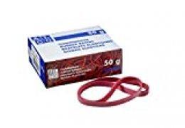 Alco-Albert 7521bandas de goma rojo