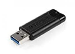 Verbatim Stick USB 3.0 De 256 GB, Tela A Rayas Negro Ampolla Al por Menor