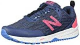 New Balance Trail Nitrel, Zapatillas de Running para Asfalto para Mujer, Azul (Vintage Indigo Vintage Indigo), 36.5 EU