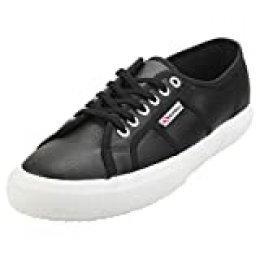Superga 2750-efglu, Zapatillas de Gimnasia Unisex Adulto, Negro (Black 999), 42.5 EU