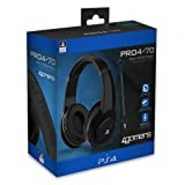 4 Gamers - PRO4-70 Negro Auricular Gaming, Licenciado (PS4)