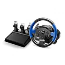 Thrustmaster T150 PRO Force Feedback - Volante PS4/PS3/PC, 3 pedales, Licencia Oficial Playstation