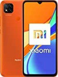 "Xiaomi Redmi 9C Smartphone 3GB 64GB 6.53"" HD+ Dot Drop display 5000mAh (typ) Desbloqueo facial con IA 13 MP AI Triple Cámara [versión en español] naranja"