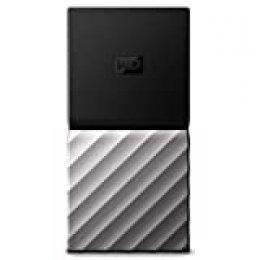 WD My Passport SSD, Almacenamiento portátil de 512GB, Color Negro compatible con PC, Xbox One y PS4