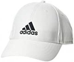 adidas Bballcap Lt Emb Gorra, Unisex Adulto, White/White/Black, OSFW