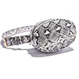Paquetes de cintura de moda de las mujeres Oval cinturón bolsa Bumbags para señoras acolchado Fanny Packs PU cuero cintura Bolsas hombro Crossbody bolsa