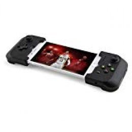 Gamevice GV157 - Mando de Juego Controller para Apple iPhone 6/6 Plus, 6s/6s Plus, 7/7 Plus, 8/8 Plus, X, XS, XS MAX, Puente Flexible, Carga y Juega - Color Negro