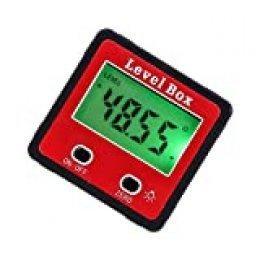 LCD Inclinómetro digital Protractor electrónico Nivel Caja Buscador de ángulos Medidor Medidor Bisel