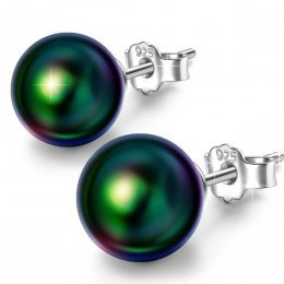 Susan Y Sólo Tu Conjunto de Joyas (Pendientes& Collar)de Plata para Mujer Hechos con Perlas de Swarovski, Envases de Regalo para Cada Momento Especial