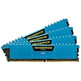 Corsair Vengeance LPX - Memoria interna de 16 GB (4 x 4 GB), DDR4, color Azul