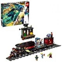 LEGO - Hidden Side Expreso Fantasma Juguete de construcción con realidad aumentada, incluye tren y minifiguras de fantasmas para atraparlos, Novedad 2019 (70424)