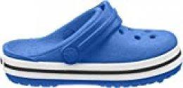 Crocs Crocband Clog Kids, Zuecos Unisex Niños, Azul (Bright Cobalt/Charcoal 4jn), 30/31 EU