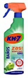 KH-7 Limpiador Baños y Desinfectante - Desinfección sin lejía - Aroma a manzana y hierbabuena - 4 Recipiente de 750 ml