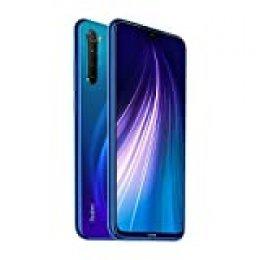 """Global Xiaomi Redmi Note Neptune Blue 8 4GB 64GB Smartphone Snapdragon 665 Octa Core 48MP Cámara Trasera cuádruple 6.3""""4000mAh 18W Cargador rápido【Versión Europea】 Azul"""
