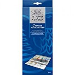 Winsor & Newton Cotman - Set studio de acuarela, 45 medio godets