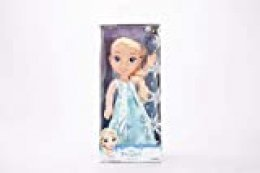 Jakks Pacific Elsa Princesa Disney Anna, Frozen Muñeca Toddler, Multicolor, 35 cm (98943-EU-2)