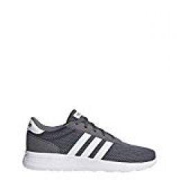 Adidas Lite Racer, Zapatillas, Gris (Gricua/Ftwbla 000), 43 1/3 EU