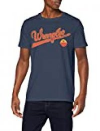 Wrangler SS Logo tee Camiseta para Hombre