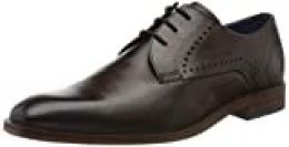 bugatti 312856021100, Zapatos de Cordones Derby para Hombre, Marrón (Brown 6000), 44 EU