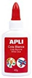 APLI 12848 - Cola, 40 g, color blanco