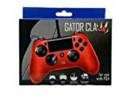 Import CEE - Mando Gator Claw, Color Rojo (PS4)