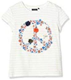 IKKS Junior tee-Shirt Symbole Peace Camiseta para Niñas