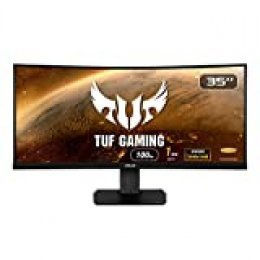 "ASUS VG35VQ TUF Gaming - Monitor de Gaming de 35"" (Full-HD, DP, HDMI, DVI-D, 0.5 ms 165 Hz) color Negro"