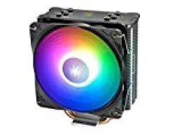 DEEP COOL GAMMAXX GT ARGB, Disipador de CPU, 120mm CPU Ventilador con Iluminación RGB Direccionable, Incluye Controlador de Cable