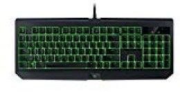 Razer BlackWidow Ultimate - Teclado mecánico para gaming (resistente al agua y al polvo, retroiluminación individual, 80 millones de pulsaciones) negro