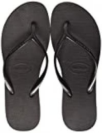 Havaianas High Light, Chanclas para Mujer, Negro (Black/Dark Grey/Ice Grey 7905), 33/34 EU