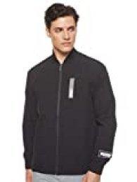 PUMA Nu-Tility Woven Jacket Chaqueta De Entrenamiento, Hombre, Black, XL