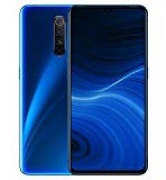 """Realme X2 Pro - Smartphone de 6.5"""", 12 GB RAM + 256 GB ROM, SuperAMOLED, procesador Octa-Core, cuádruple cámara 64 MP + 16 MP, Dual Sim, Azul (Neptune Blue)"""
