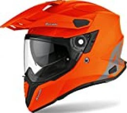 AIROH HELMET COMMANDER COLOR ORANGE MATT L