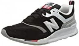 New Balance 997H m, Zapatillas para Mujer, Negro (Black/Red Hae), 36.5 EU